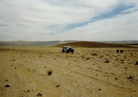 Tracing a Roman road in the Hisma desert